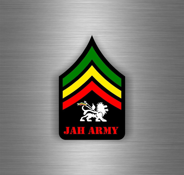 Sticker car sticker jamaican flag reggae one love rasta lion ref18 amazon co uk car motorbike