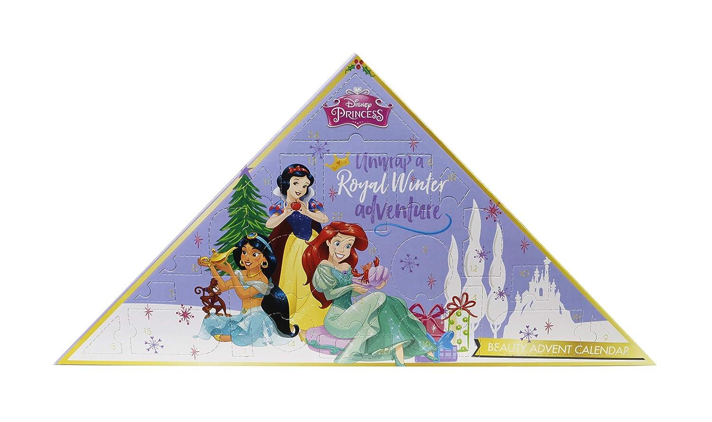 Disney Princess Calendrier de l'Avent 24 Produits de Maquillage & Accessoires Rouges à Lèvres Vernis Gloss 9807810