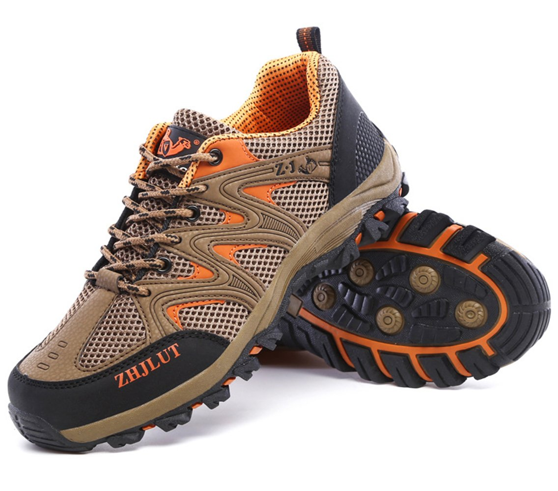 SK Studio Women's Running Breathable Hiking Shoes B071RCXGVH US M 7|Brown(men)