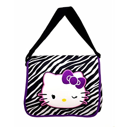 Amazon.com  Hello Kitty Zebra Pattern Messenger Bag - TRU  Toys   Games 23119823f5