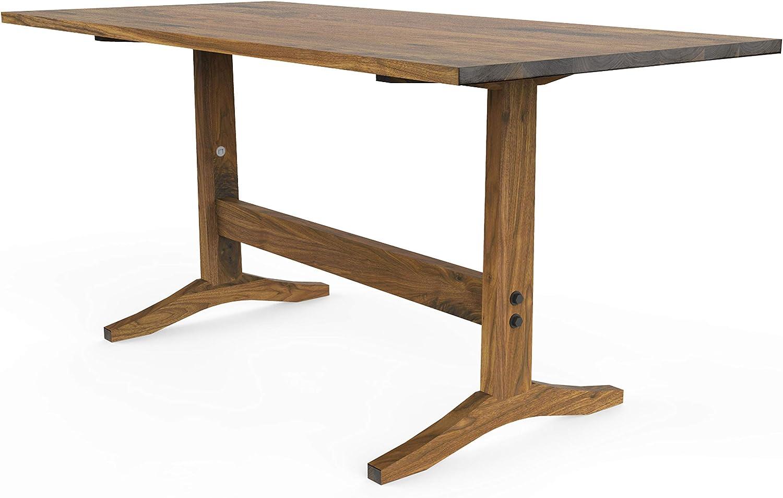 Vermont solid oak furniture small square coffee table