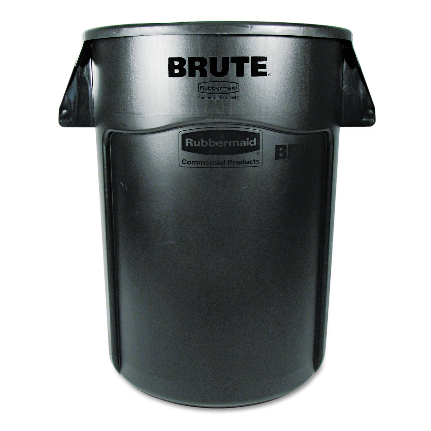 Rubbermaid BRUTE 44-Gallon Waste Container - 44 gal Capacity - Black