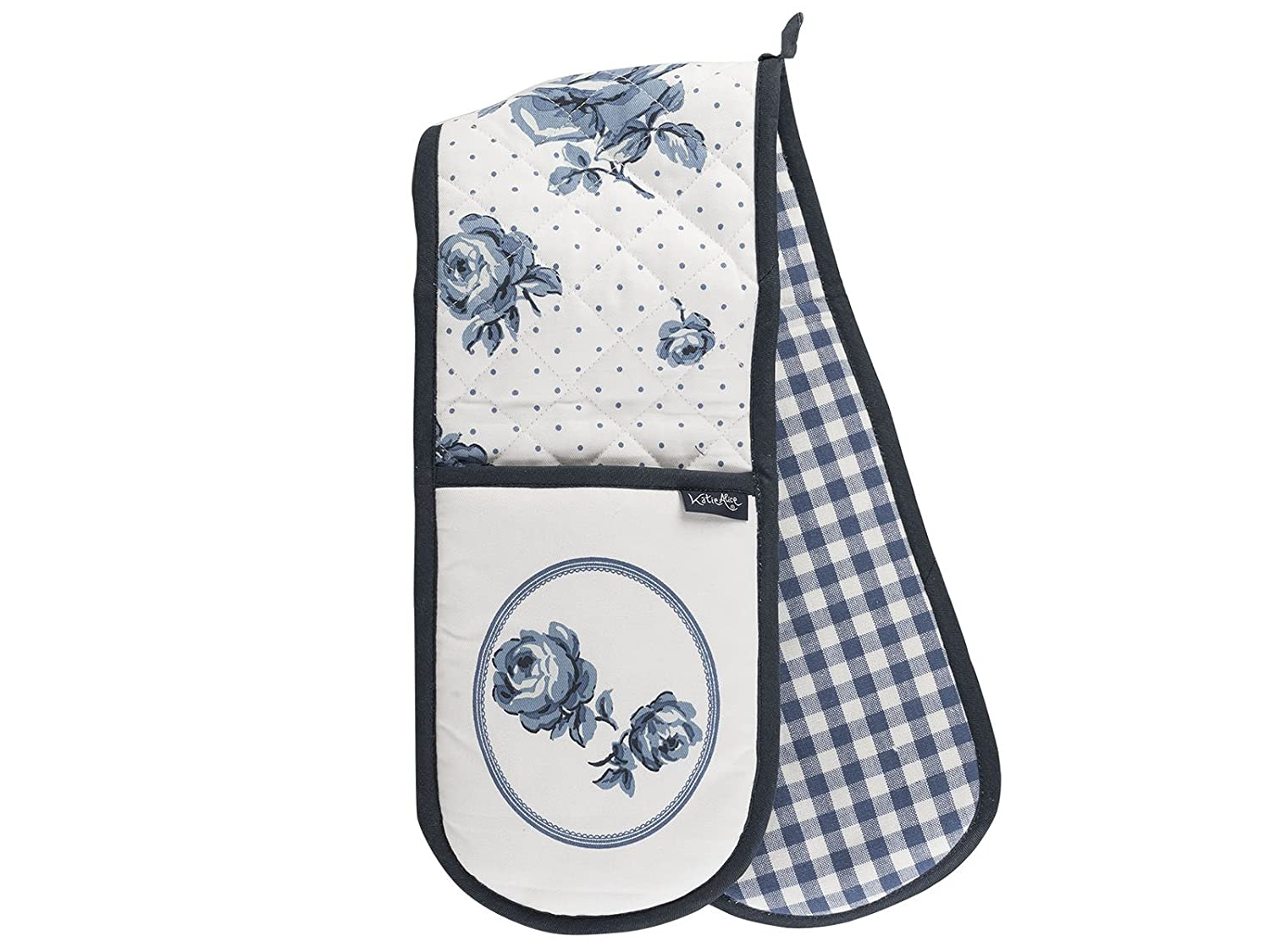 Creative Tops Katie Alice English Garden Shabby Chic Cotton Double Oven Glove, Multi-Colour GLDB3671