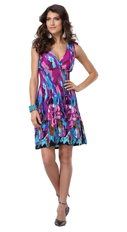 Low-Cut V-neck Dresses
