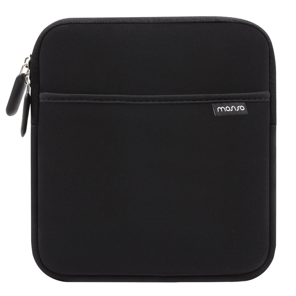 MOSISO External USB CD DVD Writer Blu-Ray & Hard Drive Sleeve Bag, Compatible MD564ZM/A USB 2.0 SuperDrive, Magic Trackpad, Samsung SE-218CB SE-218GN SE-208GB SE-208DB, LG GP65NB60, Dell DW316, Black by MOSISO (Image #1)