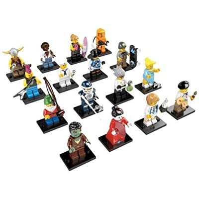 LEGO Minifigures Series 4 - Complete Set Of 16 Figures: Toys & Games
