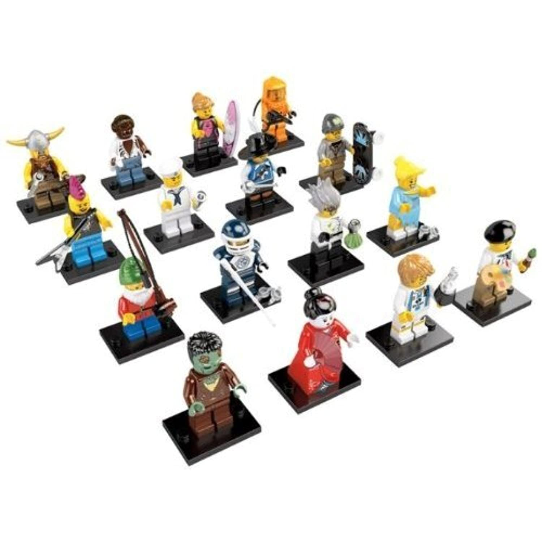 1 Lawn Gnome Real Genuine Lego 8804 Series 4 Minifigure no