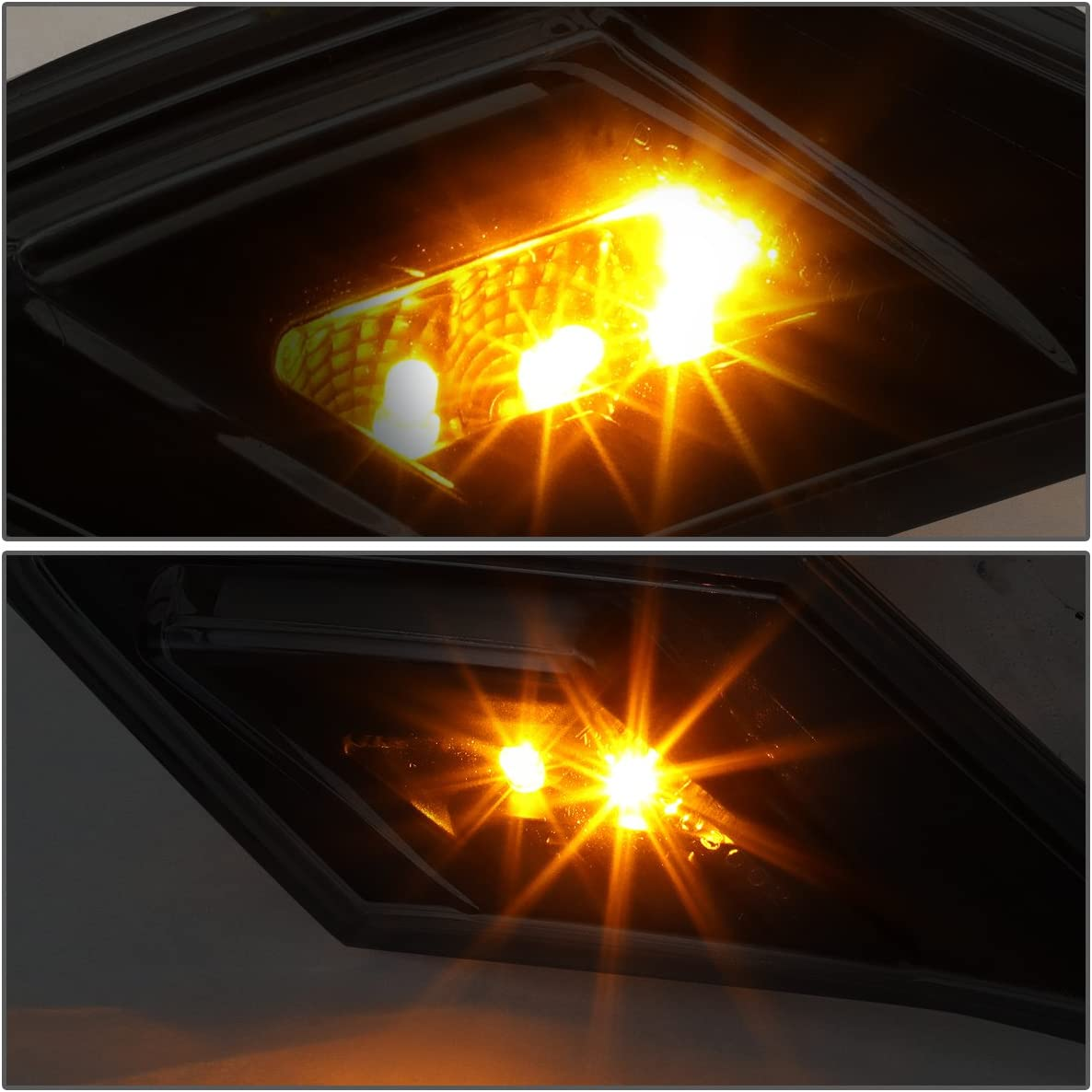 Smoked For Scion FRS//Subaru BRZ Pair of Driving /& Signal Function LED Side Markers Light