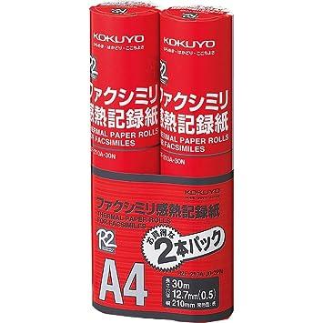 Amazon com : Kokuyo facsimile heat-sensitive recording paper