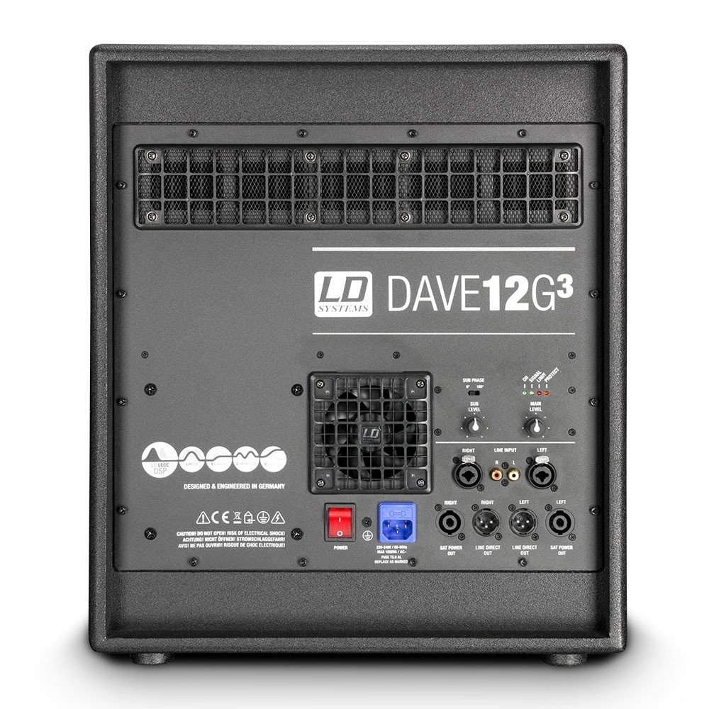 LD Systems Dave 12 G3 Portables PA-System: Amazon.de: Musikinstrumente