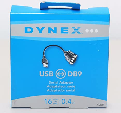 DRIVERS DYNEX USB DB9 SERIAL ADAPTER