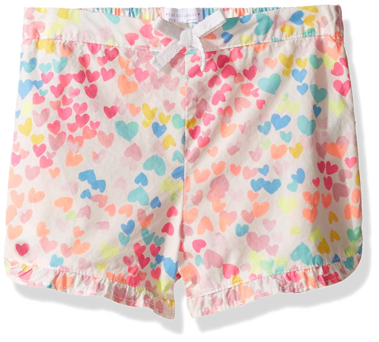 The Children's Place Unisex-Baby' Her Li'l Printed Ruffle Short The Children's Place