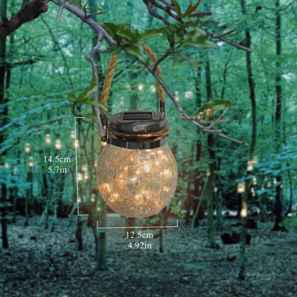 Lampadina LED Luce Calda Lampada Natalizia Arespark Luci Bicchiere Decorative Solari Impermeabili IP65 Esterni 1 pack Decorazione per Terrazza Prato Cena Giardino Nozze Luci da Giardino Solari