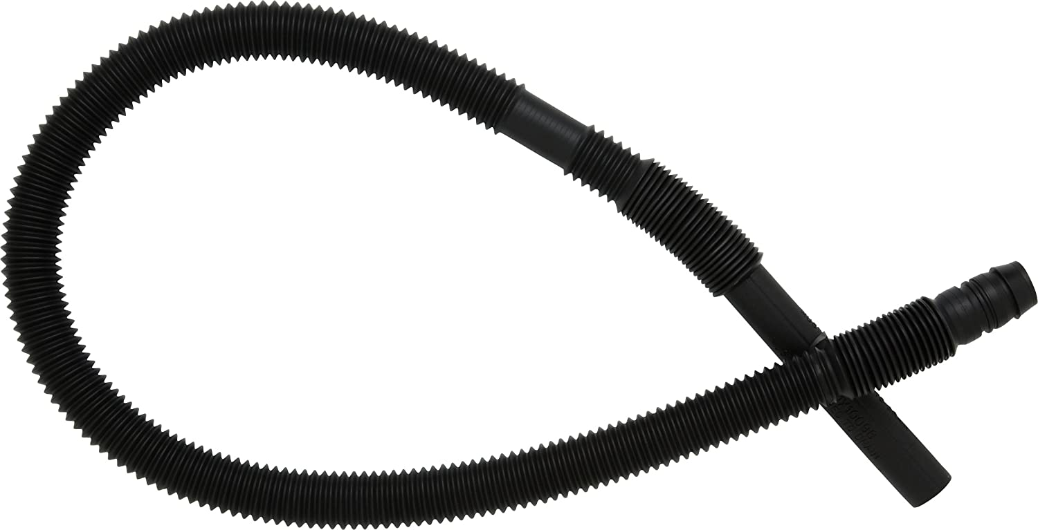 GE WH41X10096 Washing machine corrugated drain hose, Black