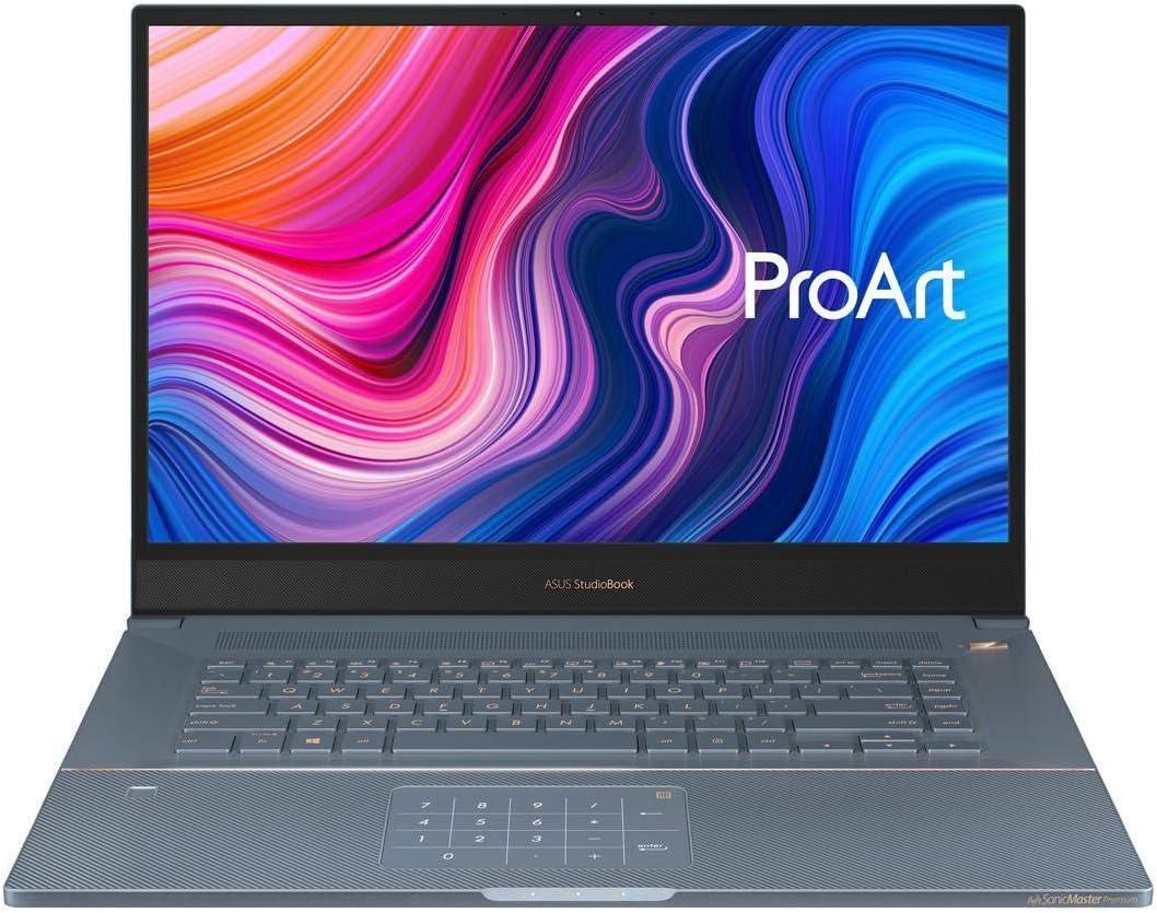 "ASUS ProArt StudioBook Pro 17 Mobile Workstation, 17"" WUXGA NanoEdge Bezel, Intel Xeon E-2276M, 32 GB ECC DDR4 2 TB PCIe SSD NVIDIA Quadro RTX 3000 Win10 Pro, W700G3T-XS99, Turquoise Gray (Renewed)"