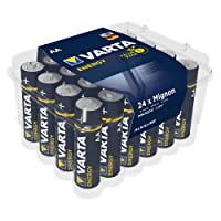 Varta 4106229224 VARTA Energy Alkaline Batteries AA 1.5V 24 Pack