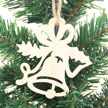 clearance sale diy christmas trees decorations wood craft ornament christmas deer reindeer snowflake xmas hanging