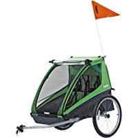 Thule Cadence Double Child Bicycle Trailer (Green)