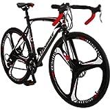 Eurobike OBK XC550 Road Bike 700C Wheels 21 Speed Disc Brake Mens or Womens Bicycle Cycling