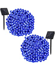 Solar String Lights,Solarmks 72ft Outdoor String Lights LED Seasonal Decorative Lighting for Home, Lawn, Garden, Wedding, Patio, Party and Holiday