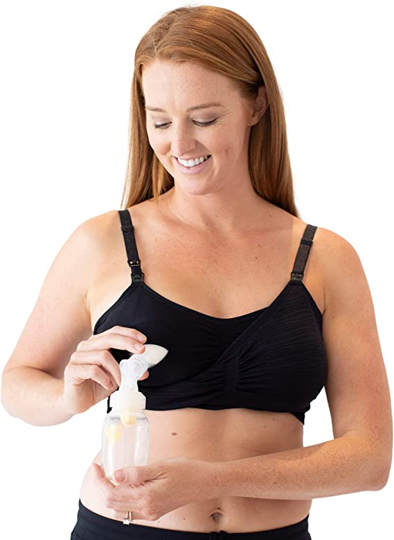 Kindred Bravely Sublime Hands Free Pumping Bra Patented EasyClip All-in-One Pumping /& Nursing Bra