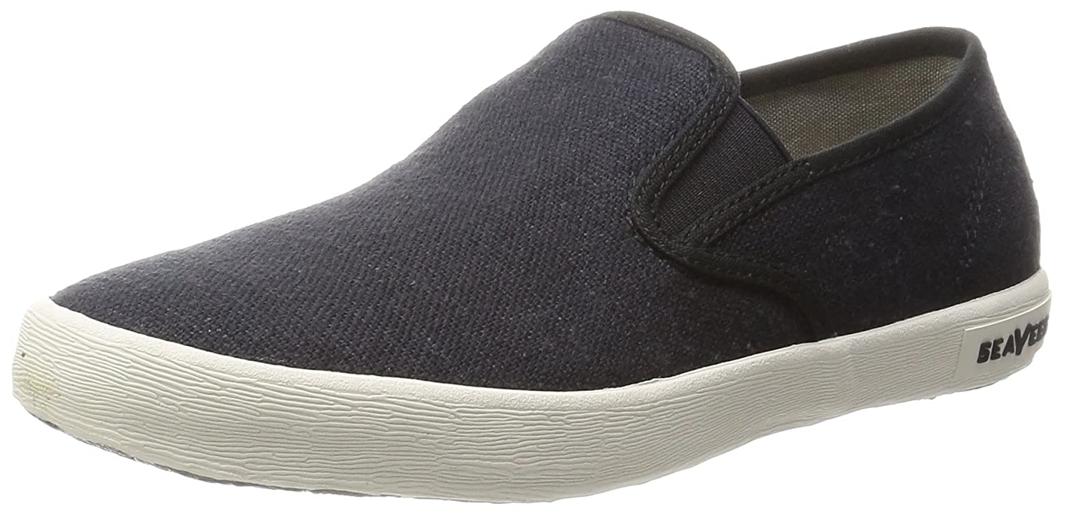 SeaVees Women's Baja Slip On Casual Sneaker B00M0PVE2Q 7 B(M) US|Black