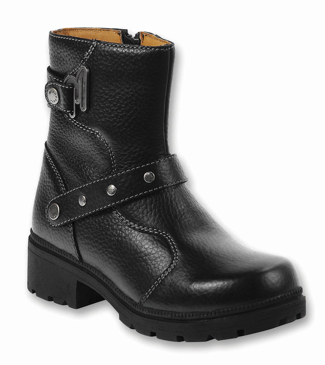 Milwaukee Motorcycle Clothing Company Womens Delusion Boots (Black, Size 6)