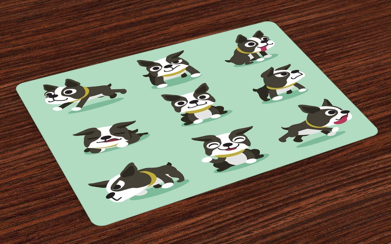Brown and black Boston terrier, French Bulldog Rottweiler Puppy, Daomeng  cartoon dog, cartoon Character, mammal png | PNGEgg