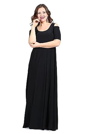 Damen Kleid Festlich Abendkleid Feierlich Abendmode Schulterfrei ...