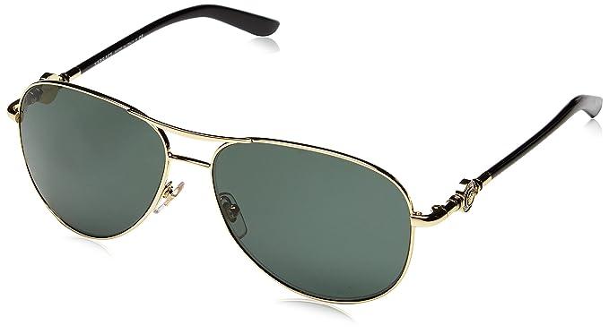 Versace - Lunette de soleil VE 2157 Pop Chic vanitas Aviator - Femme,  100271, 0cdcdb155669