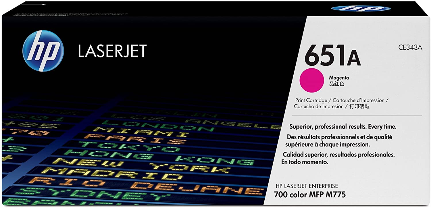 HP 651A | CE343A | Toner Cartridge | Magenta