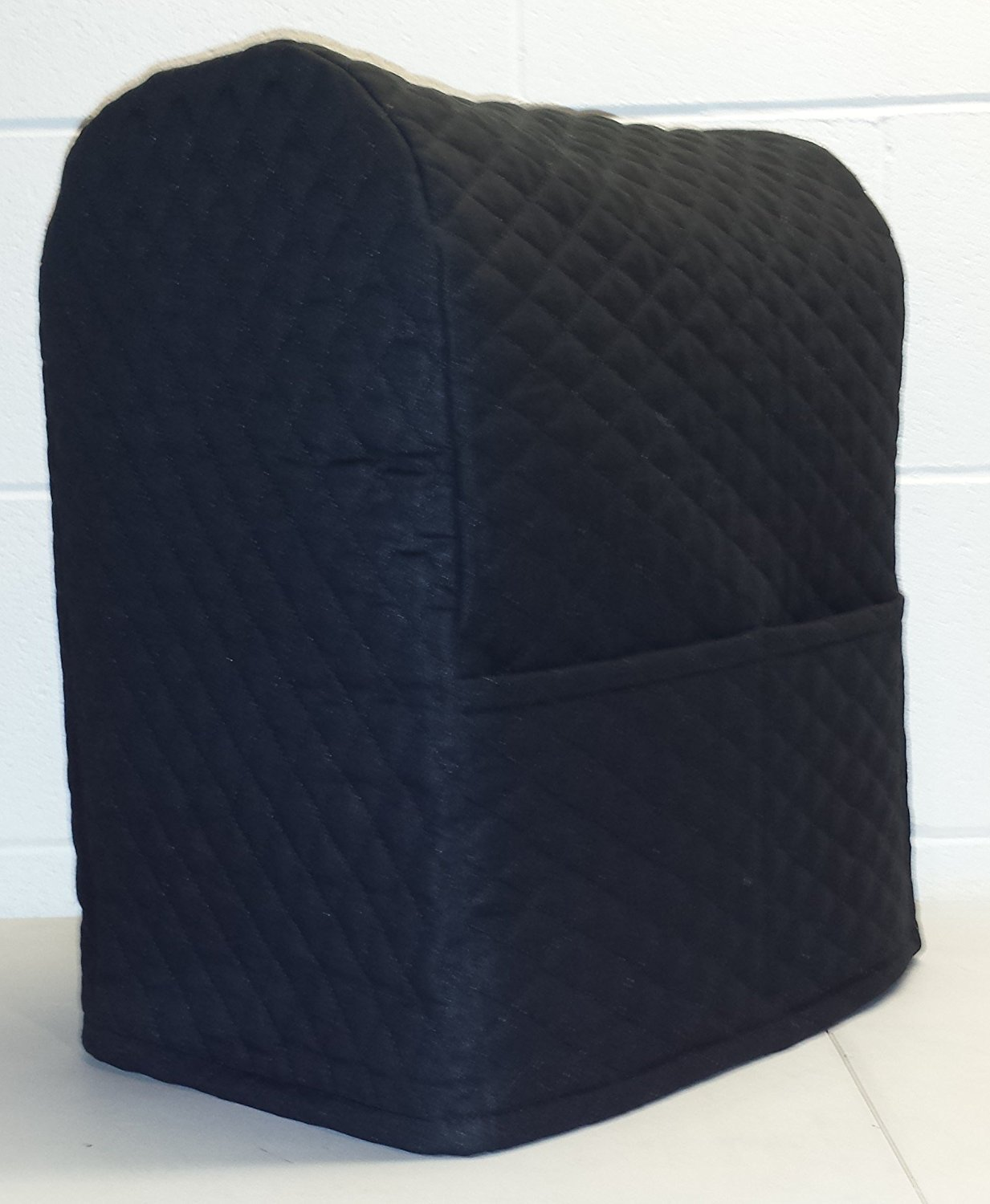 Quilted Kitchenaid Lift Bowl Stand Mixer Cover (Black) Penny' s Needful Things