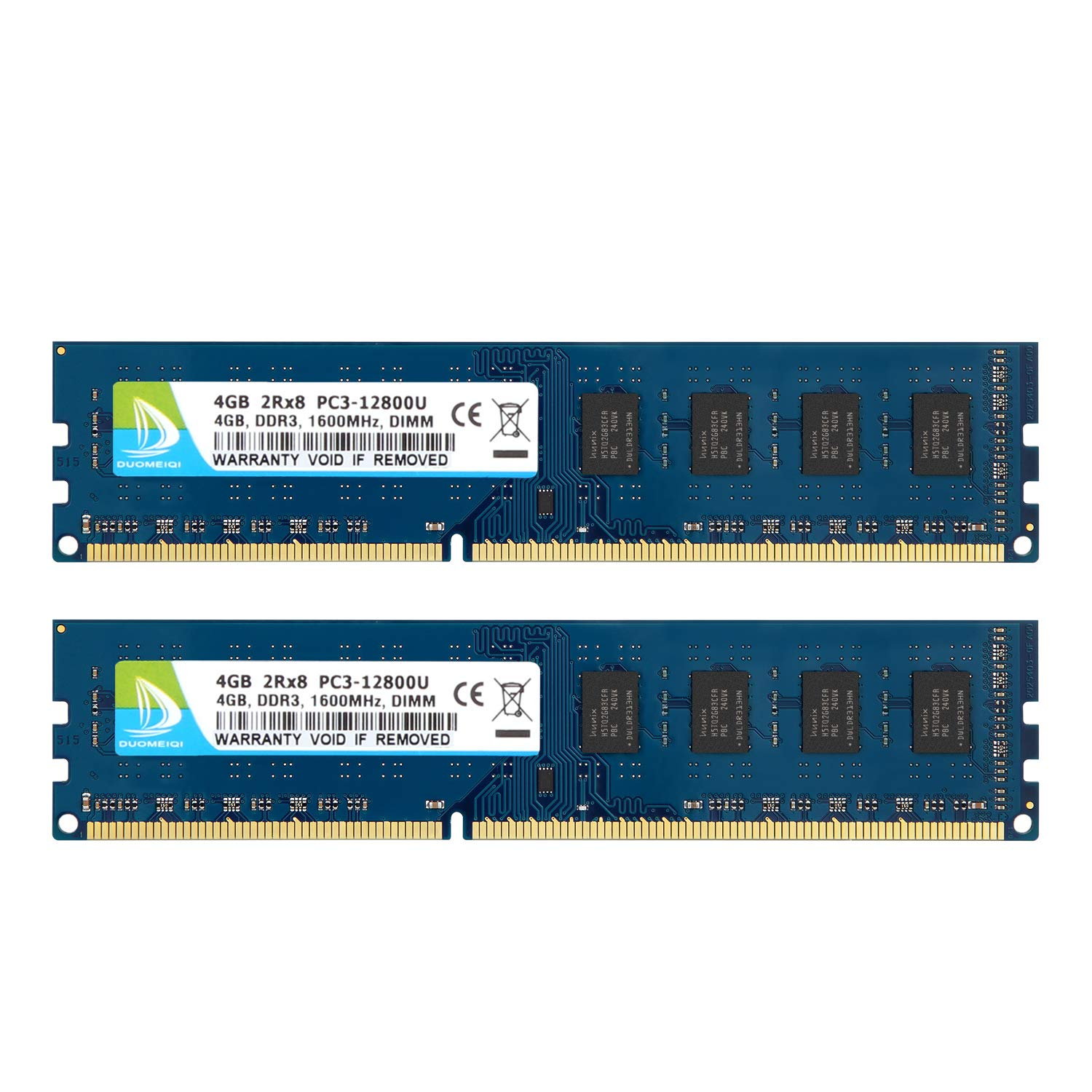 New Hynix 8GB 2Rx8 PC3-12800U DDR3 1600MHZ 240PIN 1.5V DIMM Intel Desktop Memory