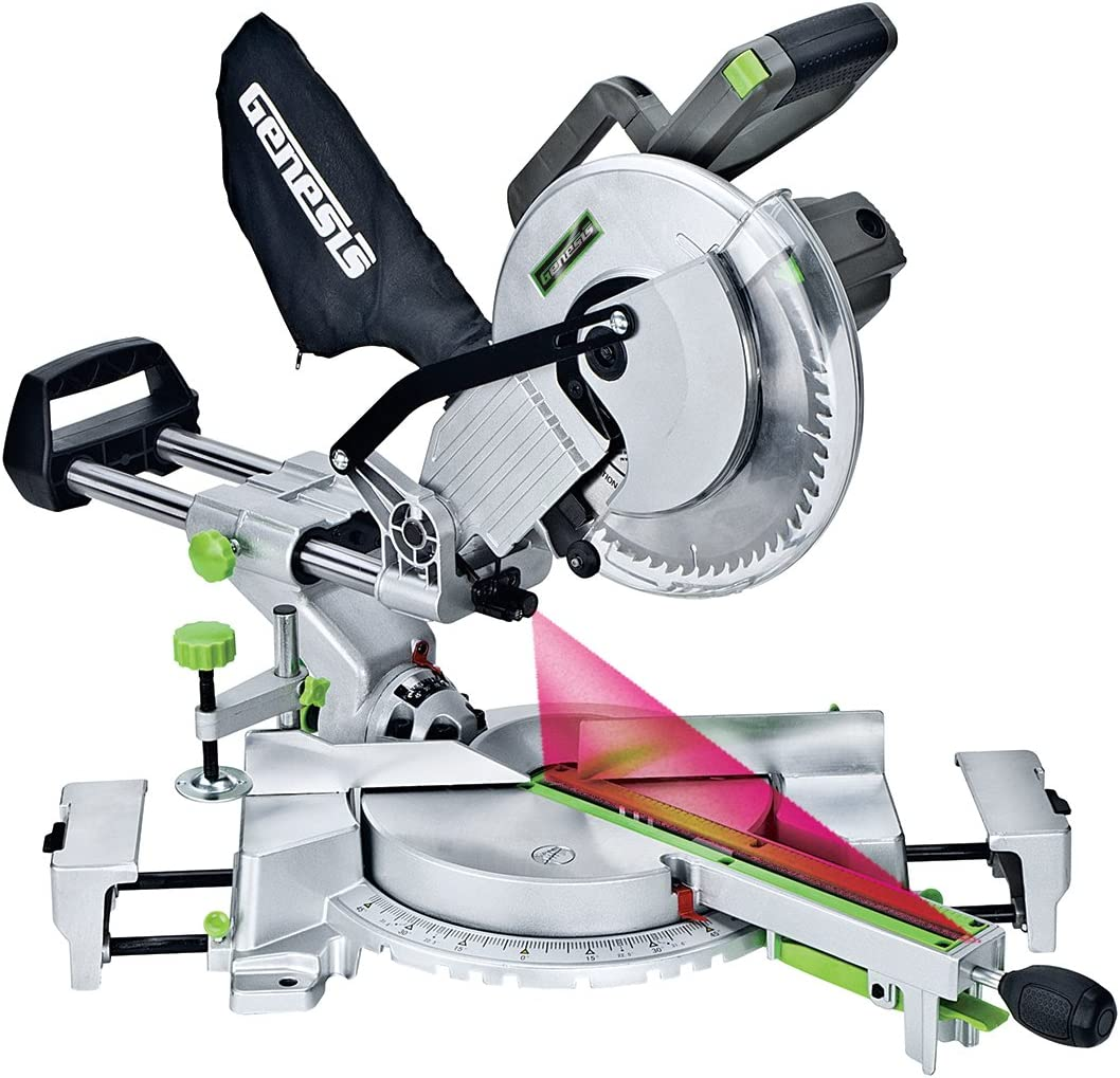 Genesis GMSDR1015LC Sliding Compound Miter Saw