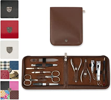 3 Swords-•,,,-- -Estuche de manicura-set de manicura-pedicura-beaute-beauty/cuidado de las uñas de manos y pies personal/• 12 piezas • Marca de calidad: Amazon.es: Belleza