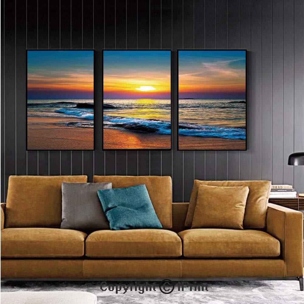 Mural de pared para recámara, playa, relajación, paisaje, isla ...
