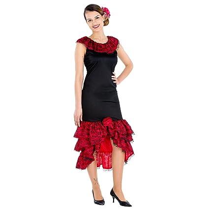 dressforfun Disfraz de flamenca bailarina de tango para ...