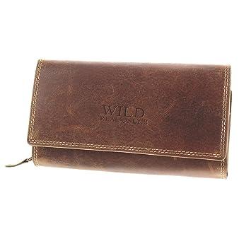71a01409f29d6a MIO große Geldbörse Damen Portemonnaie Frauen Portmonee Geldbeutel echt  Leder Brieftasche Börse