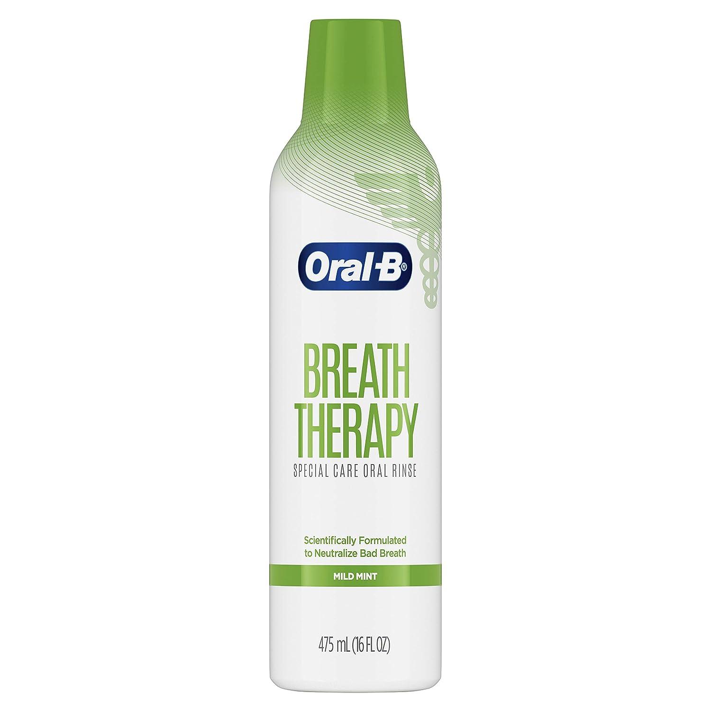 Oral-B Breath Therapy Mouthwash Special Care Oral Rinse, 16 fl oz