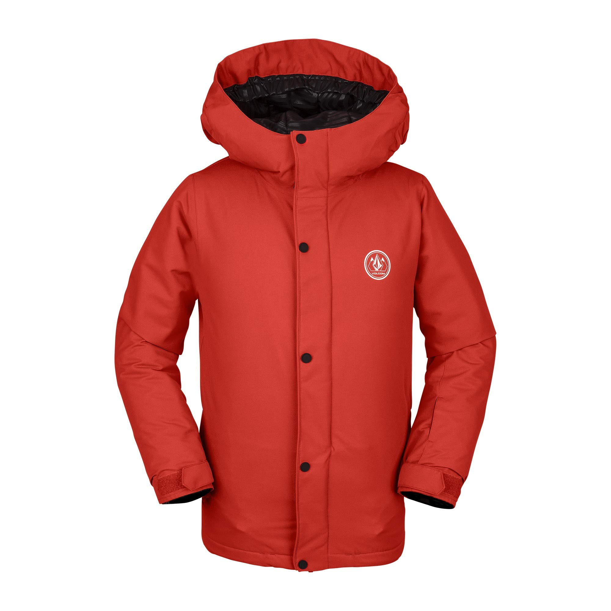 Volcom Boys' Big Ripley Insulated Relaxed Fit Snow Jacket, Orange, Extra Large by Volcom