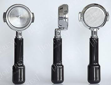 Concept-Art - Soporte para filtro de máquina de café Faema E 61 (con filtro, para espresso): Amazon.es: Hogar