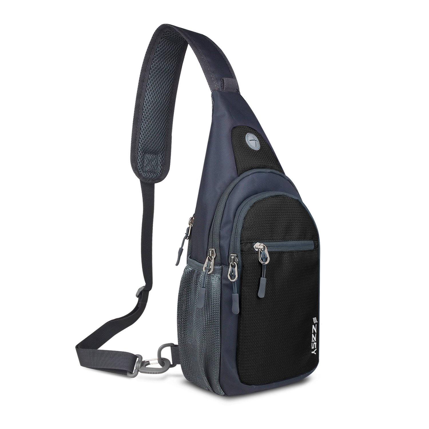 ZZSY Sling Backpack, Shoulder Chest Crossbody Bag Small Daypack for Outdoor Hiking Men & Women by ZZSY