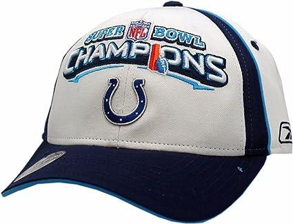 7123d6855c7 Amazon.com   Indianapolis Colts Super Bowl Champions XLI Hat Locker ...