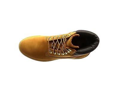 Timberland Men's 6 inch Premium Waterproof Boot, Dark Brown Nubuck, 8 M US