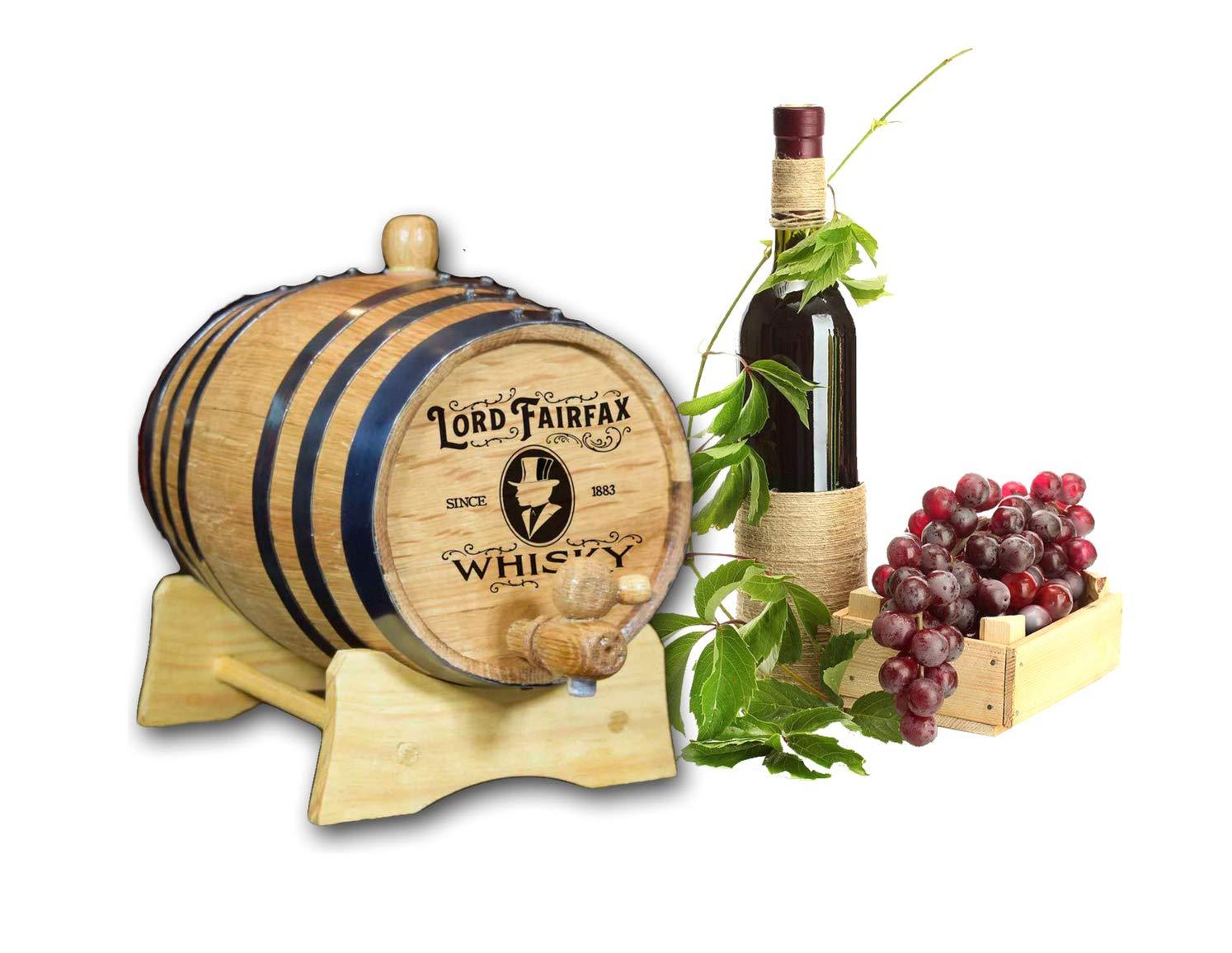 Decorative Whiskey Barrel (B247)
