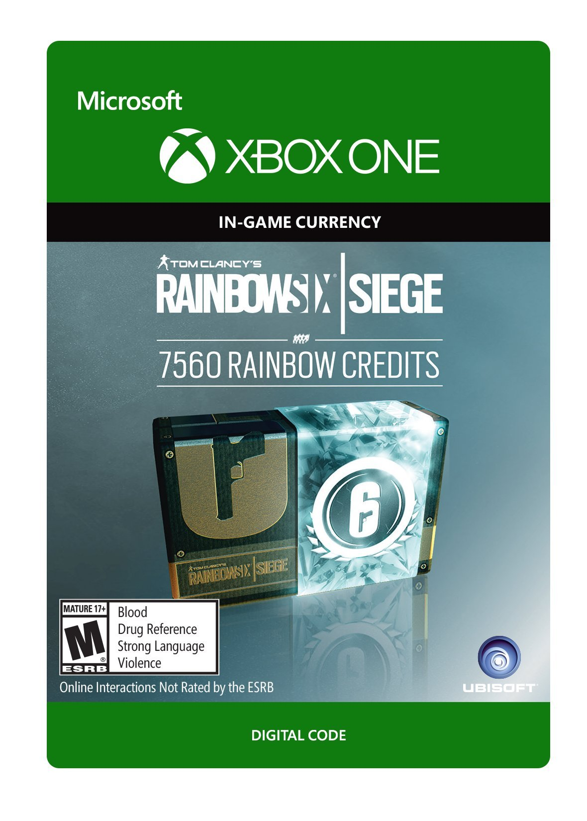Tom Clancy's Rainbow Six Siege Currency pack 7560 Rainbow credits - Xbox One [Digital Code]