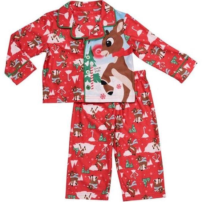 1c157ffce95a Amazon.com  Rudolph Newborn Baby Boys 2 Piece Pajama Set  Clothing