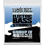 【正規品】 ERNIE BALL ベース弦 フラットワウンド グループ4 (40-95) 2808 FLAT WOUND GROUP4