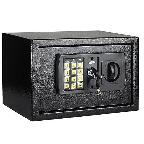 MultiWare Electronic Home Safe Box Digital Money Safe Key Box 8.5 Litre Large