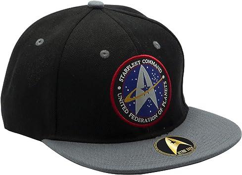 ABYstyle - STAR TREK - Gorra Starfleet Command - Negro y Gris ...